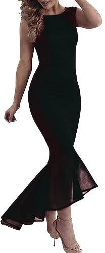 made2envy Tulle Fishtail Sleeveless Long Dress