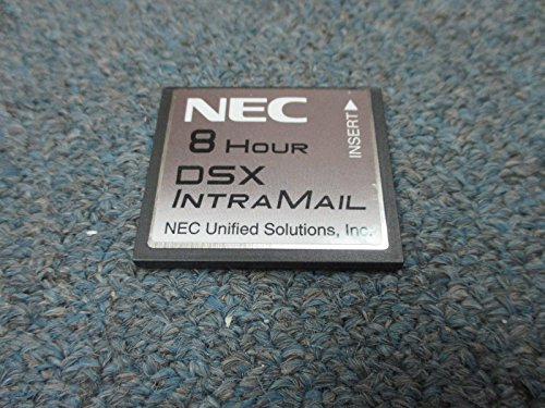 NEC DSX 40 80 160 1091060 V1.4 G Intramail 2 Port 8 Hour Flash Voice Mail Sys