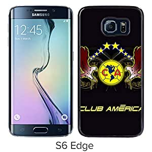 Club America 6 Black New Personalized Custom Samsung Galaxy S6 Edge G9250 Case