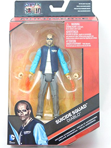 (DC Comics Multiverse, Suicide Squad Movie, Diablo Action Figure, 6 Inches)