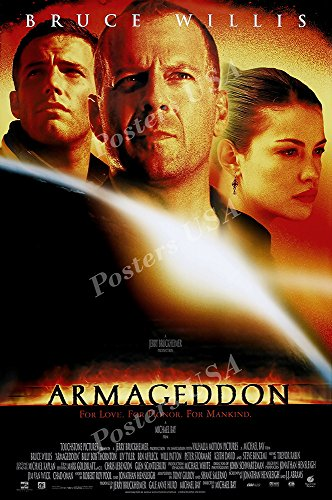 Posters USA - Bruce Willis Armageddon Movie Poster GLOSSY FINISH - FIL059 (24