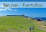 San Juan - Puerto Rico 2020 (Tischkalender 2020 DIN A5 quer): Das bunte Leben in der karibischen Metropole, voller Farbenpracht, Sonne und Meer (Monatskalender, 14 Seiten )