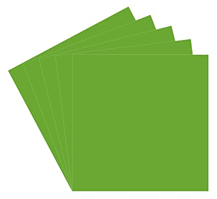 Amazon com: 5 Lime Tree Green Oracal 651 Vinyl Sheets, 12x12