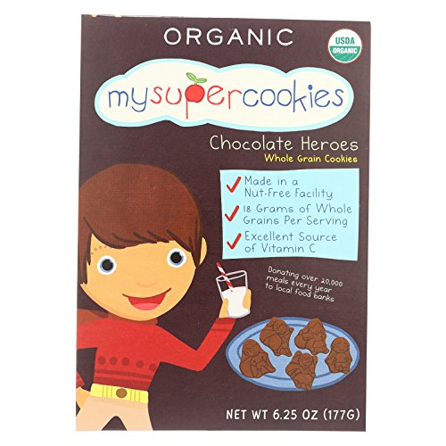 Sports Organic Cookies (My Super Cookie Chocolate - Case of 6-6.25 oz.)