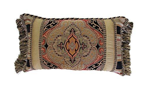 """Austin Horn Classics Ravel Boudoir Pillow, 14"""" x 20"""", Multic"""