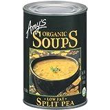 Low Fat Split Pea Soup by Amy's Kitchen, 14.1 fl oz (24)