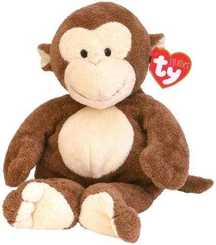 Amazon Com Ty Pluffies Dangles Monkey Toys Games