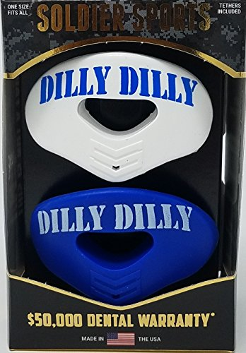 Soldier Sports New DILLY Elite Air Mouthguard 2-Pack – DiZiSports Store