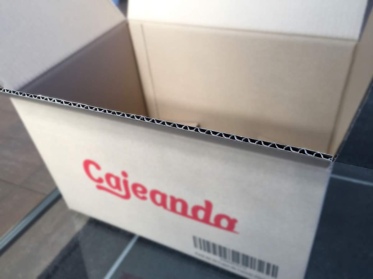 Pack de 20 Cajas de Cart/ón con Asas Fabricadas en Espa/ña Canal Doble de Alta Calidad Reforzado y Resistentes Cajeando Mudanza y Almacenaje Tama/ño 550 x 350 x 370 mm