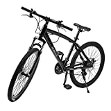 21 Speeds Double Disc Brakes Mountain Bike 26 Inch Variable Speed Road Bikes