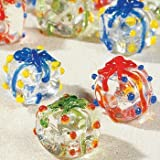 Glass Present Craft Beads