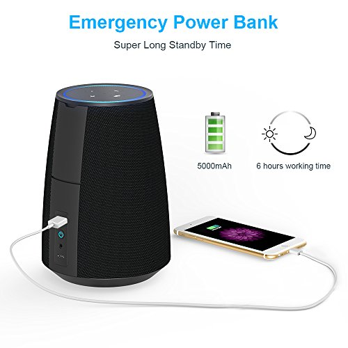 MOKCAO-POWER-Cordless-Speaker-Battery-Base-for-Echo-Dot-2nd-Generation-20W-Powerful-Stereo-Sound-Portable-Powered-Speaker-with-5000mAh-Power-Bank-Echo-Dot-sold-separately