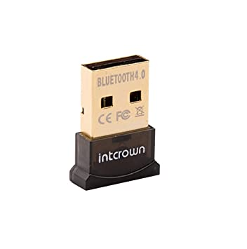 Amazon com: INTCROWN USB Bluetooth CSR 4 0 Micro Dongle