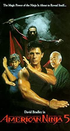 American Ninja 5 [USA] [VHS]: Amazon.es: David Bradley, Lee ...