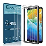 TOCOL [3PACK] Screen Protector for LG Stylo 4 Tempered Glass HD Clear, Anti-Scratch, Bubble Free- Easy Installation Tray with Lifetime Replacement Warranty