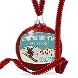 Christmas Decoration Durango Mountain Ski Resort - Colorado Ski Resort Ornament