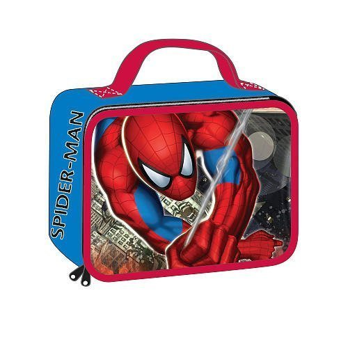 Marvel Spider-Sense Spider-Man Insulated Lunch Bag Tote - Rectangular