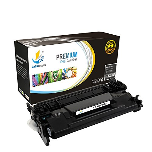 Catch Supplies 87A CF287A Premium Black Replacement Toner Cartridge Compatible with HP LaserJet Enterprise M506 M506n M506dn M506x, MFP M527 Laser Printers |9,000 - First Class Time Package Delivery
