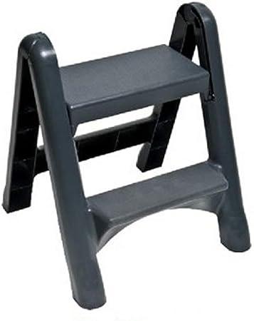 XiuHUa Escalera de pie Escalera Simple y Conveniente de Dos Pasos Escalera Plegable de plástico Grueso Escalera for el hogar, 58x49x37 cm Taburete (Size : 58X49x37CM): Amazon.es: Hogar