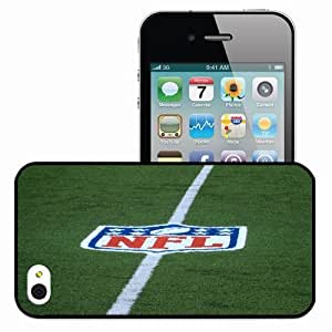 Personalized iPhone 4 4S Cell phone Case/Cover Skin HD NFL Sports Black