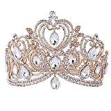 Wedding Crown, Beautiful headdress/Queen'S Baroque Crown Decorations Bride'S Crown Luxurious Atmosphere Court Photo Studio Accessories Accessories.