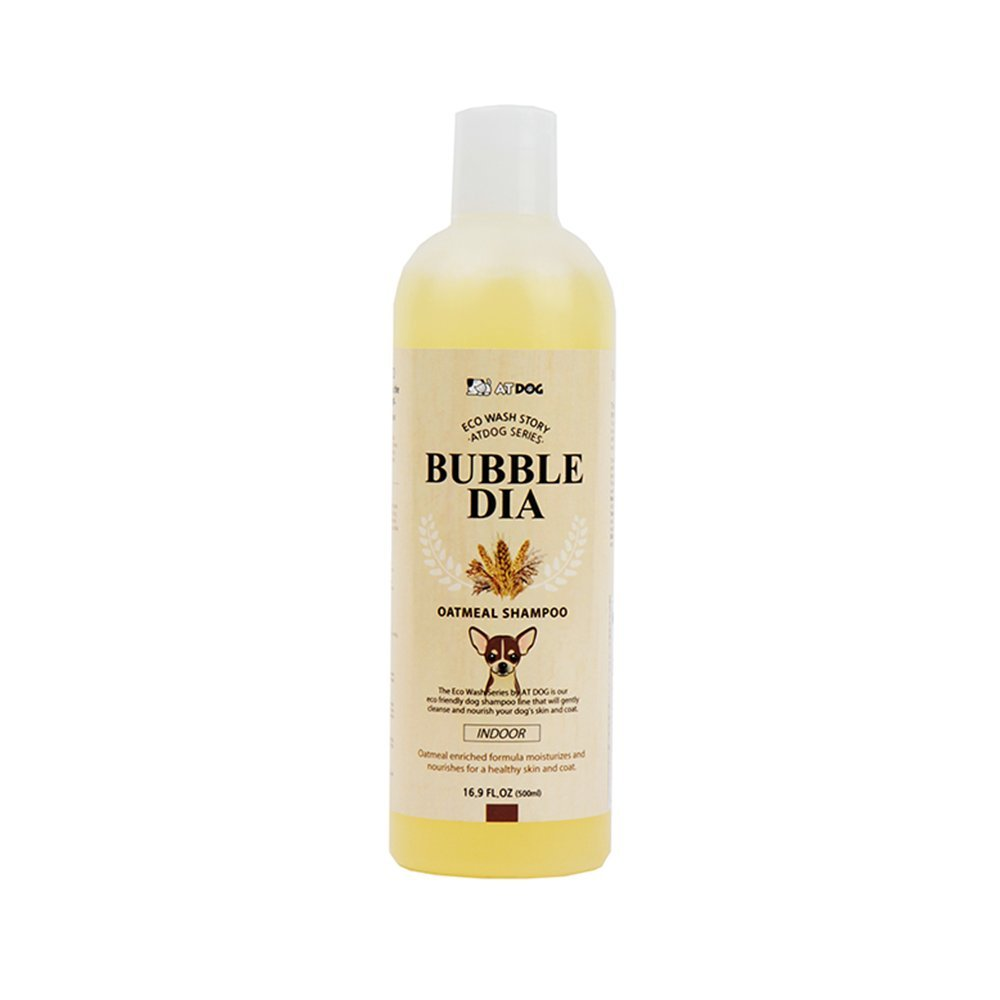 Alpha Dog Series Bubble Dia - Oatmeal Shampoo (Pack of 2) + Free Conditioner