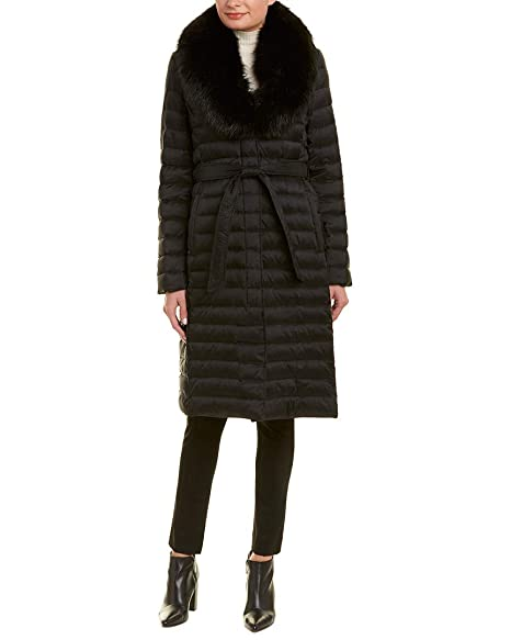 Amazon.com: T Tahari Maxi Coat - Perchero largo para mujer ...