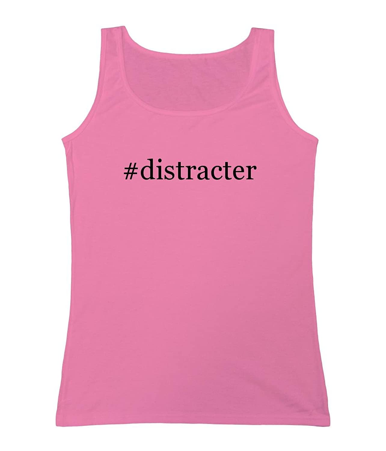 #distracter - Women's Hashtag Tank Top