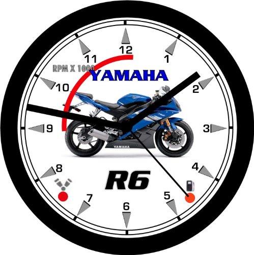YAMAHA R6 SUPERBIKE MOTORCYCLE WALL CLOCK-Free USA Ship!