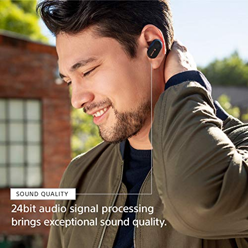 Sony WF-1000XM3 Industry Leading Noise Canceling Truly Wireless Earbuds,  Silver