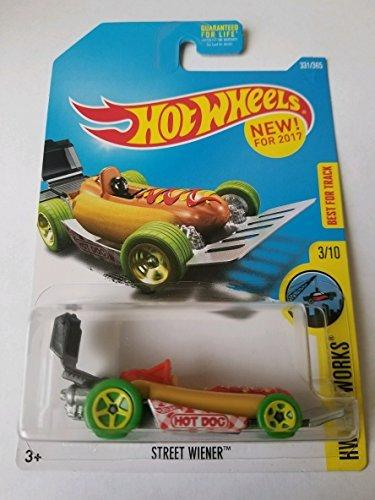 - Hot Wheels 2017 HW City Works Street Wiener (Hot Dog Car) 331/365