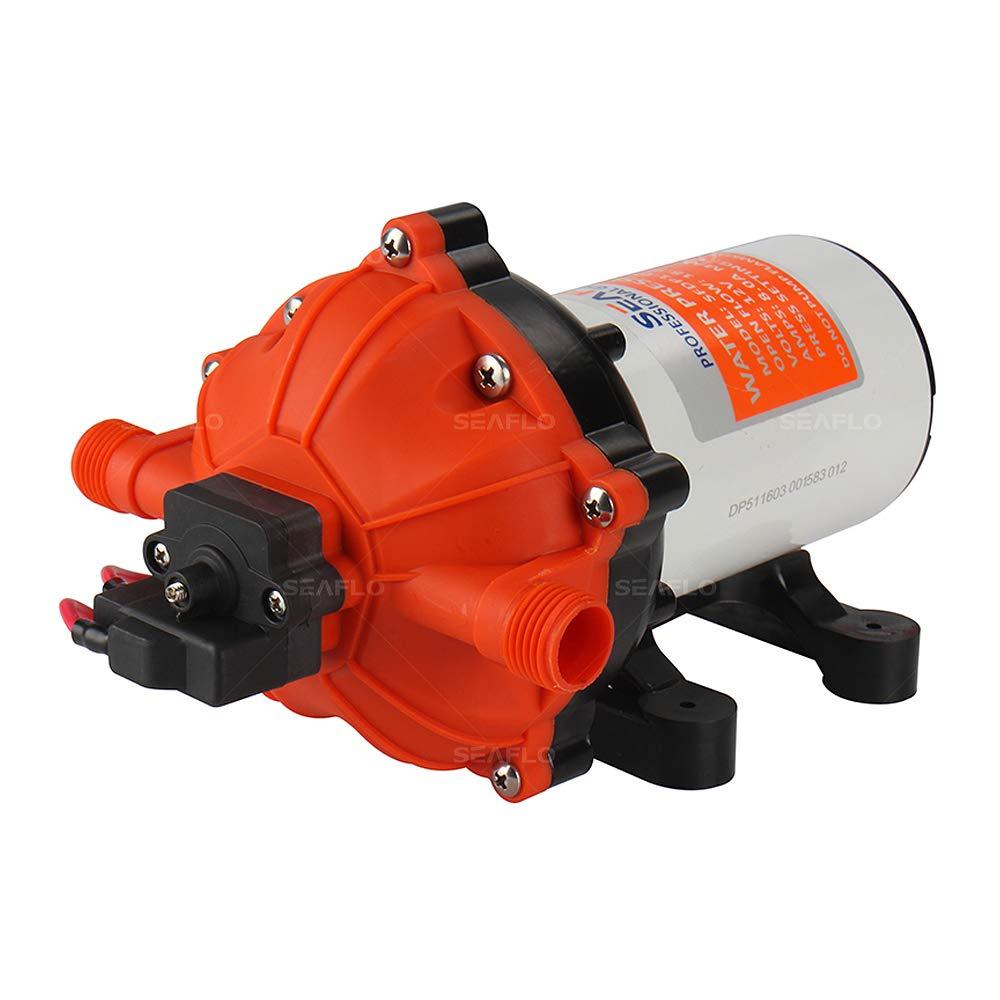SeaFlo High Pressure Marine Water Pump 12 V DC 60 PSI 5.0 GPM on demand by Sea Fresh Marine (Image #1)
