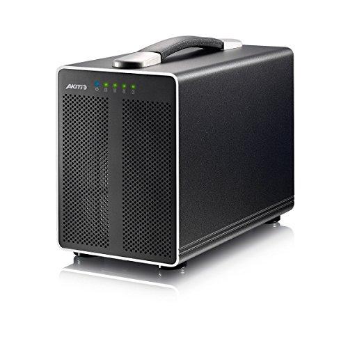 AKiTiO Thunder2 Quad 4-Bay Thunderbolt-2 Storage Enclosure 4TB (4x1TB SSD) TBQ-TIAA-AKTUH