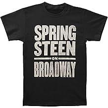 Bruce Springsteen Men's Bruce On Broadway Slim Fit T-Shirt Black