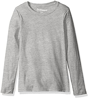 Hanes Big Girls' Comfortsoft Long Sleeve Tee