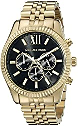 Michael Kors Men's MK8286 Lexington Gold-Tone Stainless Steel Watch