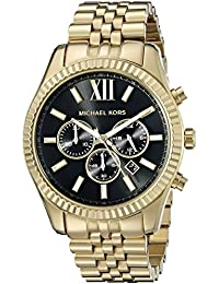 Men's Lexington Gold-Tone Watch MK8286