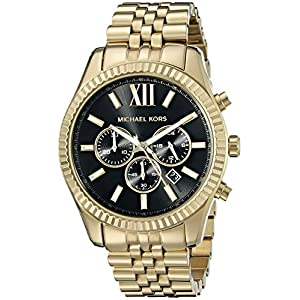 Michael Kors Lexington Chronograph Stainless Steel Watch