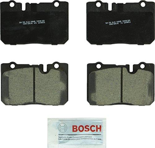 Bosch BC665 QuietCast Premium Ceramic Disc Brake Pad Set For 1995-2000 Lexus LS400; Front ()