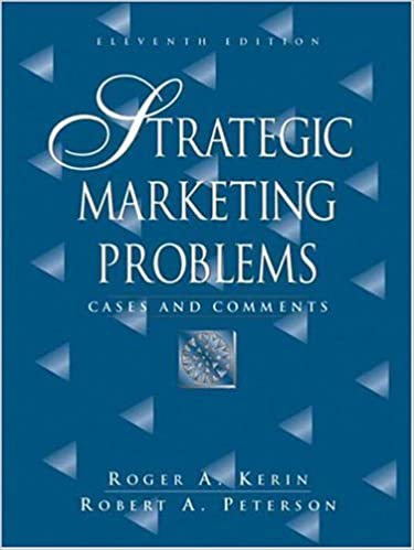 Amazon strategic marketing problems cases and comments 11th strategic marketing problems cases and comments 11th edition 11th edition fandeluxe Gallery