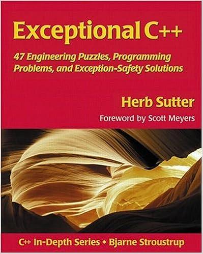 Amazon Com Exceptional C 47 Engineering Puzzles Programming