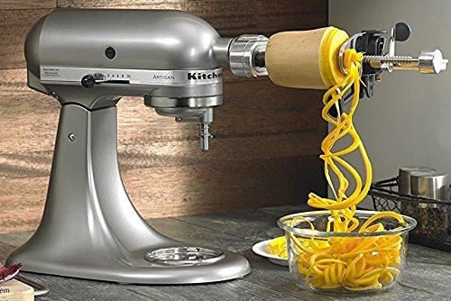 Kitchenaid Rksm1apc Spiralizer Attachment With Peel Core