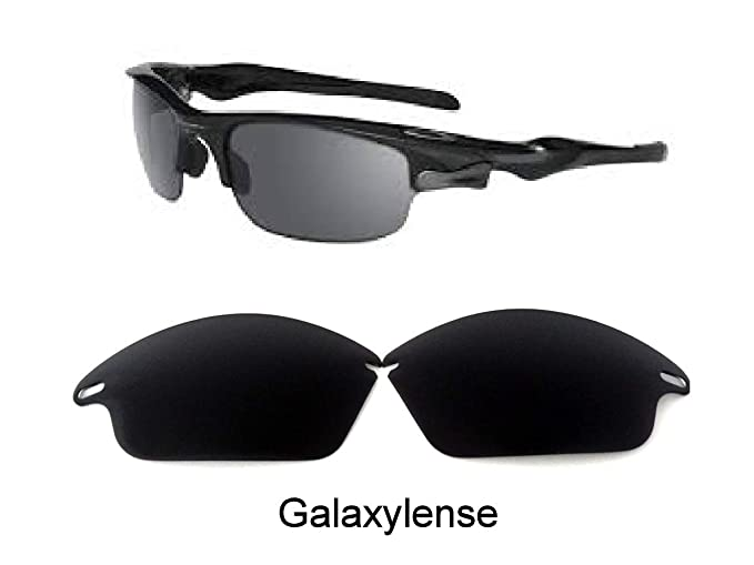 85c924e666 Amazon.com  Galaxy Replacement Lenses for Oakley Fast Jacket Not For Fast  Jacket XL Black Polarized