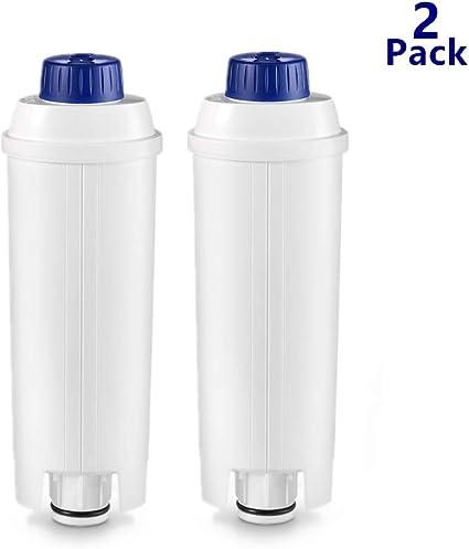 950/g, 73/x 38/x 165/mm /Filtro ad acqua DeLonghi DLS C002/di flusso diretto Bianco/