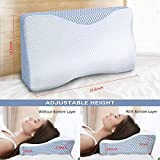 Cervical Pillow, MOKALOO Memory Foam Pillow for