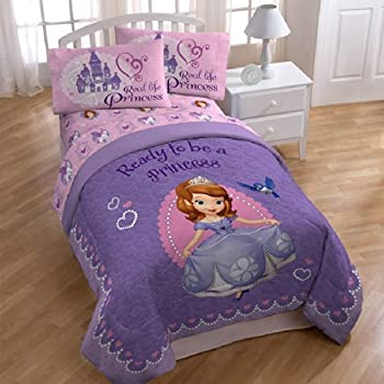 Amazon.com: Disney Junior Sofia The First Graceful Twin Sheet Set ...