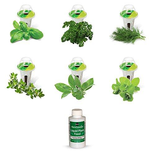 (AeroGarden Gourmet Herb Seed Pod Kit (6-Pod))