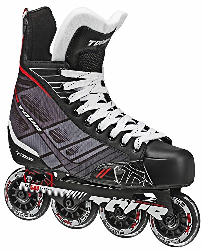Hockey Rollerblades (Tour Hockey 58TA-12 Senior FB-225 Inline  Hockey Skate, Size 12)