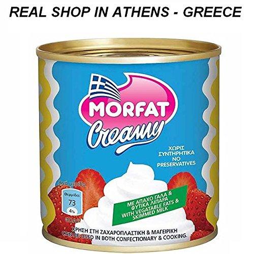 Morfat Cream Food Greek Product From Greece Creamy Free Gluten - Sugar