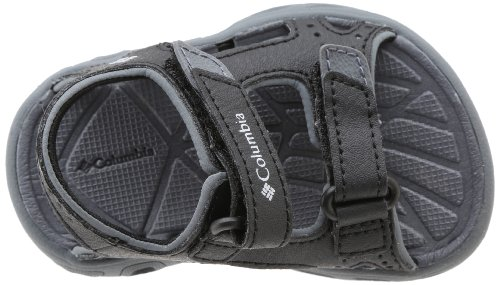 Columbia Techsun Vent T - Escarpines para niños, color Black/Columbia Grey